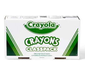 Large Size Crayola Crayons 400 ct.
