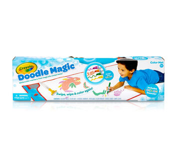 Doodle Magic Color Mat, Blue