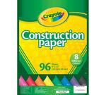 Construction Paper 96 ct.