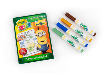 Minions Color Wonder Coloring Pad
