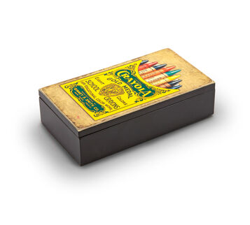 Crayola Vintage Trinket Box