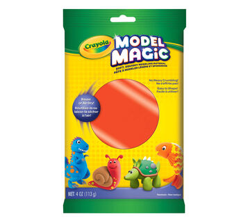 Model Magic 4 oz single packs - neon colors - Red
