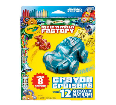 Melt n Mold Factory Crayon Cruisers