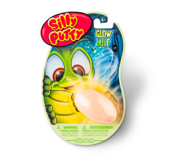 Silly Putty Glow in the Dark - Yellow