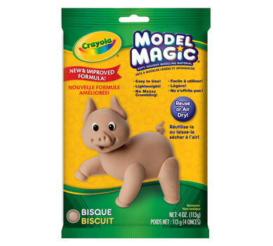 Model Magic 4-oz. Pouch of Bisque