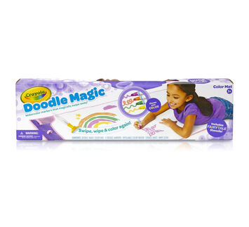 Doodle Magic Color Mat, Purple