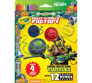 Melt 'n Mold Factory Teenage Mutant Ninja Turtles Expansion Pack