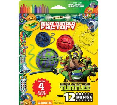 Melt 'n Mold Factory Teenage Mutant Ninja Turtles Expansion Pack