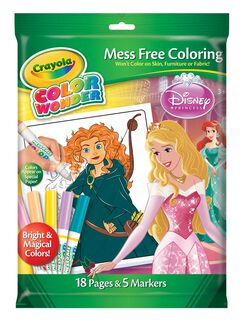 Color Wonder Coloring Pad & Markers - Disney Princess