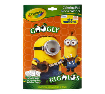 Minions Googly Eye Coloring Book