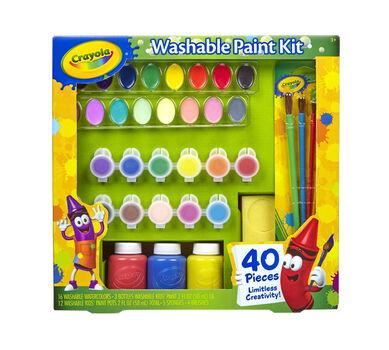 Washable Paint Kit