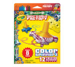 Melt n Mold Factory Color Spinnerz, Twisted Rainbow Pack