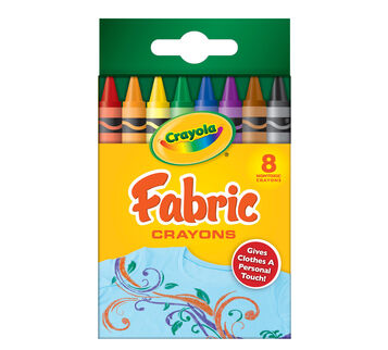 Fabric Crayons 8 ct.