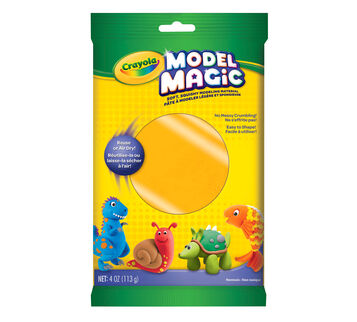 Model Magic 4 oz single packs - neon colors - Orange