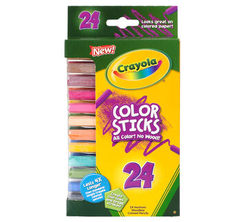 Color Sticks Colored Pencils 24 Ct.