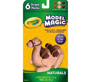 Model Magic 0.5-oz. Naturals 6 ct.