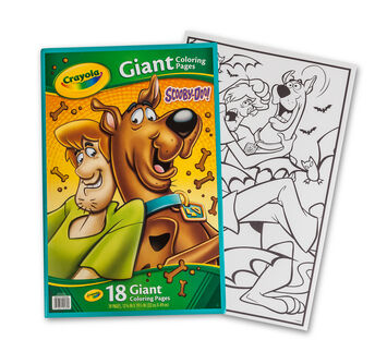 Giant Coloring Pages - Scooby Doo