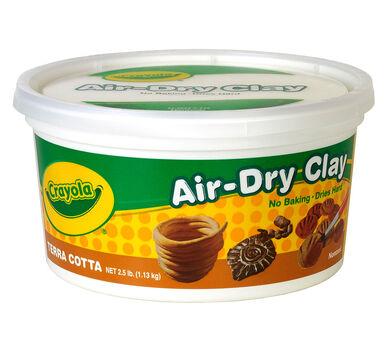 Terra Cotta Air Dry Clay Bucket 2.5 lb