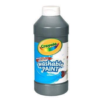 Washable Paint. 16-oz. Black