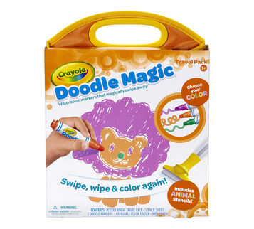 Doodle Magic Travel Mat Animals