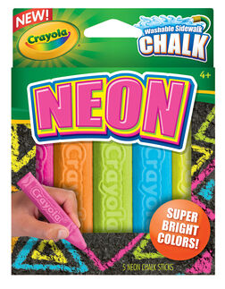 Special Effects Sidewalk Chalk - Neon