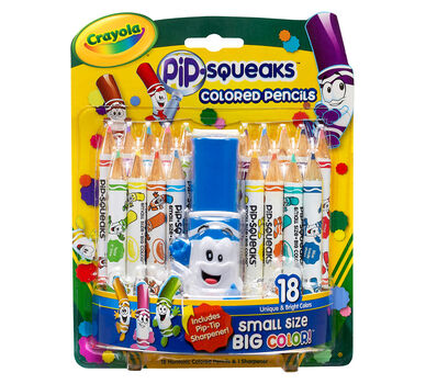 Pip-Squeaks Colored Pencils 18 ct.