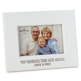 Amazing Grandparents Wood 4x6 Picture Frame, , large