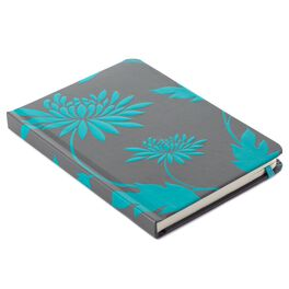 Turquoise Mum Silhouette Journal, , large