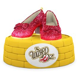 THE WIZARD OF OZ™ RUBY SLIPPERS™ Ornament With Lights, , large
