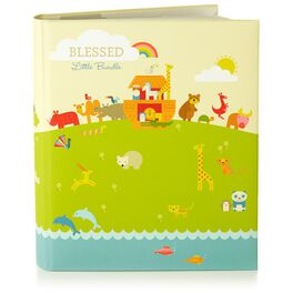Noah's Ark Three-Ring Baby Book, , large