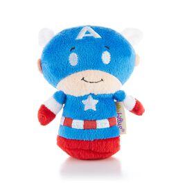 itty bittys® CAPTAIN AMERICA Stuffed Animal, , large