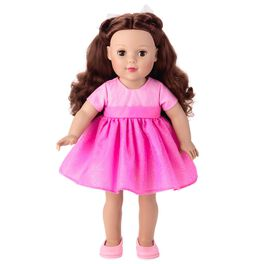 "Madame Alexander 18"" Doll with Brunette Hair, , large"
