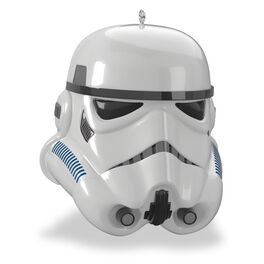 Star Wars™ Imperial Stormtrooper™ Helmet Ornament With Sound, , large