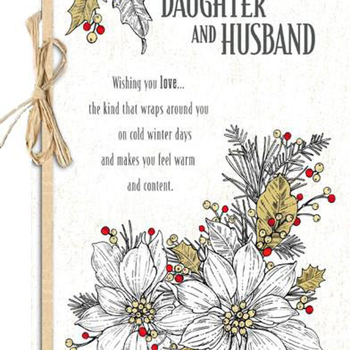 Christmas Wishes For Daughter And Her Husband