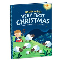 Very First Christmas Personalized Book, , large