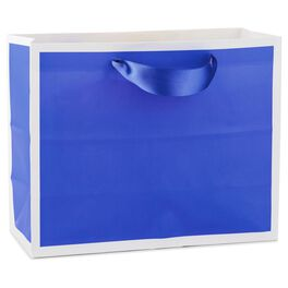 Purple Medium Gift Bag, , large