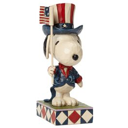 Patriot—Patriotic Snoopy Figurine, , large