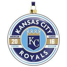 MLB Kansas City Royals™ Glass Ornament, , large