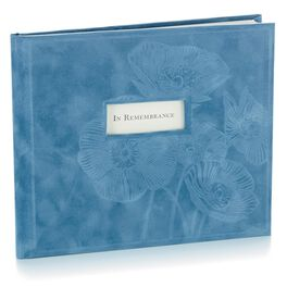 Blue Suede Guest Book, , large