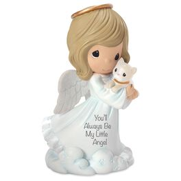 Precious Moments® You'll Always Be My Little Angel Girl and Cat Figurine, , large