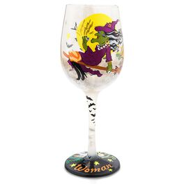 Witchy Woman 15-oz Lolita® Wine Glass, , large