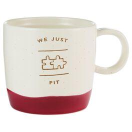 We Just Fit Mug, , large