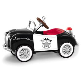 1949 Gillham Police Car Ornament, , large