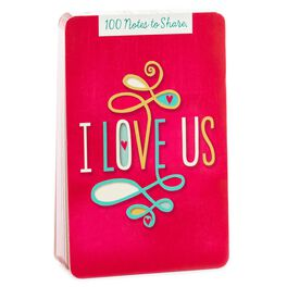 I Love Us Love Notes Gift Book, , large