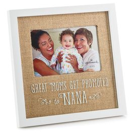 Promoted to Nana Wood 4x6 Picture Frame, , large