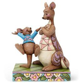 Look Mama, I Bounced Kanga and Roo Figurine, , large
