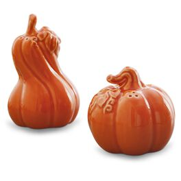 Pumpkin and Gourd Salt and Pepper Shaker Set, , large