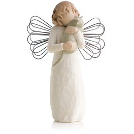 Willow Tree® Angel of Affection Figurine, , large