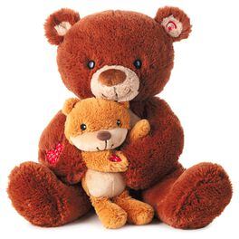 You Can Count on Me Interactive Stuffed Bear, , large