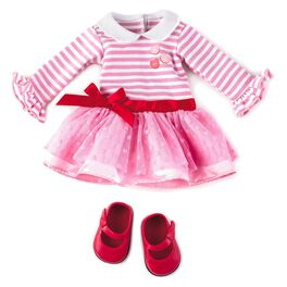 Madame Alexander Doll Valentine's Day Outfit, , large